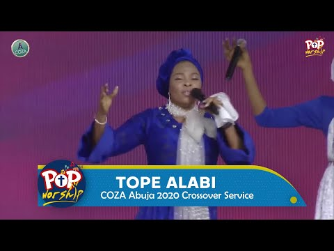 Tope Alabi Powerful Ministration at Coza Abuja 2020 Crossover Service