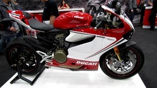 5. 2013 Ducati 1199 Panigale S Tricolore - Walkaround - 2013 Quebec Motorcycle Show