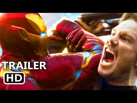 "AVENGERS INFINITY WAR ""Iron Man VS Star Lord"" Trailer (NEW 2018) Marvel Movie HD"