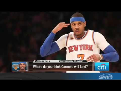 Video: Will the New York Knicks trade Carmelo Anthony?