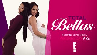 The Bellas and their fellas are back when Season 2 of Total Bellas kicks off Sept. 6 on E!.More ACTION on WWE NETWORK : http://wwenetwork.comSubscribe to WWE on YouTube: http://bit.ly/1i64OdTMust-See WWE videos on YouTube: https://goo.gl/QmhBofVisit WWE.com: http://goo.gl/akf0J4