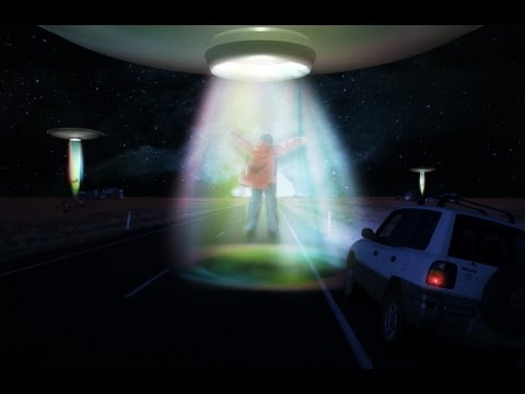 Alien Abduction Speed Art (CS5)