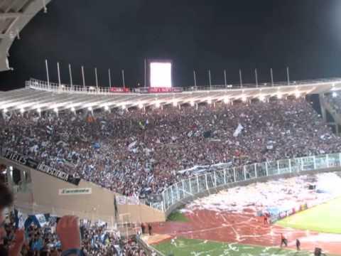 Recibimiento hinchada de Talleres vs San Jorge - La Fiel - Talleres