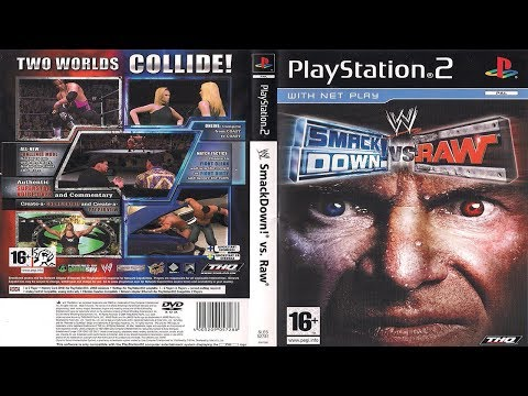 WWE SmackDown!® vs. Raw® - Season Mode - U.S. Title Defense Storyline (WrestleMania PPV) - Part #1