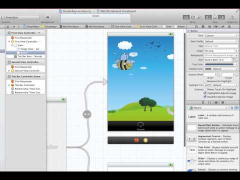 Create a Simple App in Xcode 4.3.3