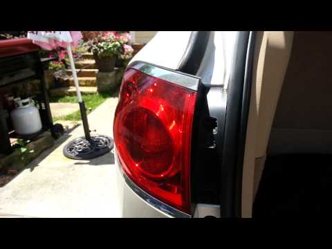 Change tail lamp for Buick Enclave 08-12