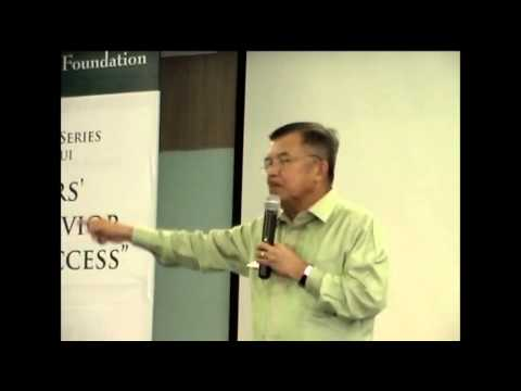 Tanoto Entrepreneurship Series with Vice President of Indonesia, Jusuf Kalla