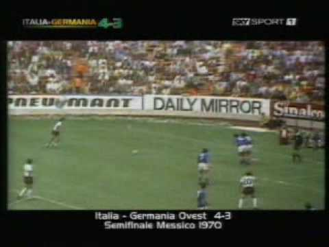 Mexico 1970 Italia-Germania 4-3 Fabio Caressa