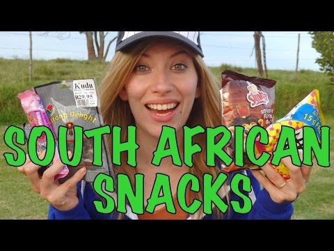 VIDEO: South African Food Taste Test