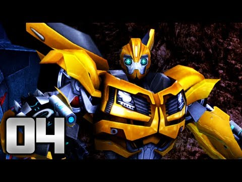 transformers - Subscribe to the show - http://bit.ly/TransformersPrime We play as Bumblebee and complete Episode 4 - Captured! collecting all 2 artifacts,golden triangles a...