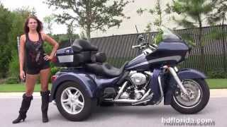6. Used 2008 Harley Davidson FLTR Road Glide Trike for sale