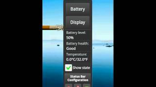 Cigarette Battery Widget YouTube video