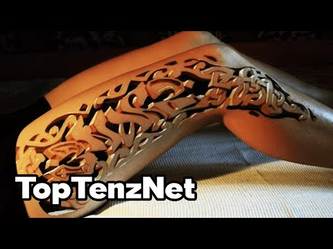 Top 10 AMAZING TATTOOS