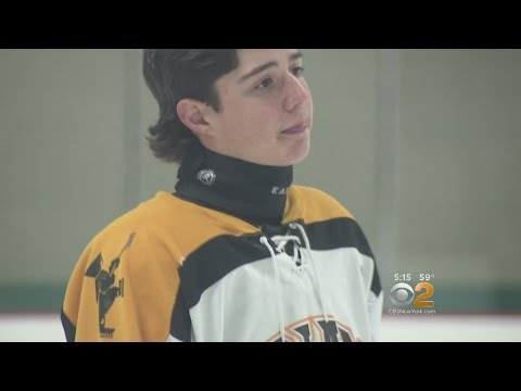 Hockey Neck Guard Saves High Schoolers Life