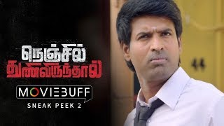 Video Nenjil Thunivirunthal - Moviebuff Sneak Peek 02 | Sundeep, Vikranth, Soori & Mehrene Kaur Pirzada MP3, 3GP, MP4, WEBM, AVI, FLV Maret 2018