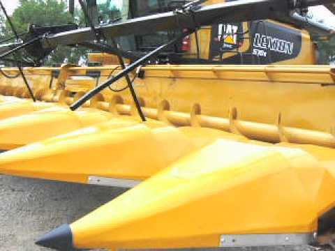 Corn-Reel on Lexion with 12row Bish Built Cornhead