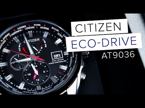 CITIZEN ECO DRIVE Testbericht // AT9036 // Deutsch // FullHD