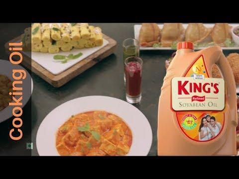 Kings Refined Soya Bean Oil TVC- Foodstyling by Chef Payal Gupta