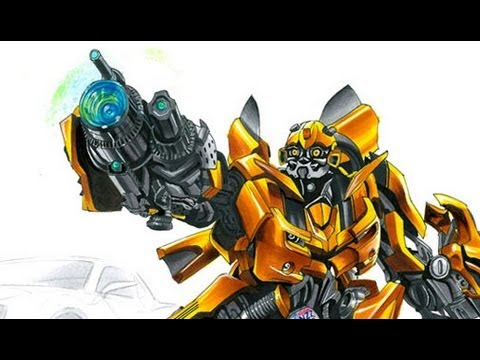 Bumblebee Transformers drawing by Adonis Alcici
