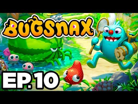 😴 FEEDING BUGSNAX TO GRAMBLE, SECRET UNDERGROUND DESERT TOMBS! - Bugsnax Ep.10 (Gameplay Let's Play)
