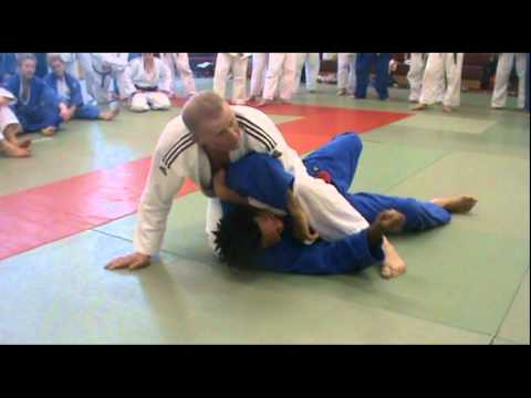 Judo – Juji-gatame Techniques by Steve Gawthorpe (6th Dan)