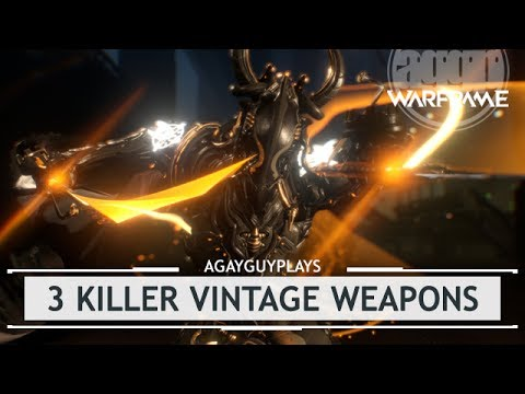 Warframe: 3 KILLER Vintage Non-Meta Weapons [thedailygrind]
