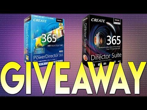 PowerDirector 365 & Director Suite 365 Giveaway (CLOSED)