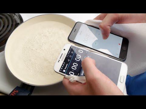 GALAXY S6 VS IPHONE 6 放進滾水裏對決,究竟最後誰能勝出呢?