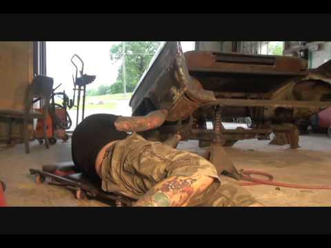 1956 Cadillac-Custom Desk-Rust Repair NIGHTMARE Part 1