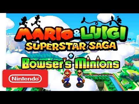 E3 2017: Mario & Luigi: Superstar Saga + Bowser's Minions