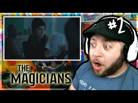 "The Magicians Episode 2 REACTION ""The Source Of Magic"""