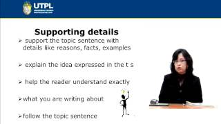 UTPL WRITING A PARAGRAPH [(INGLÉS)(READING AND WRITING III)]