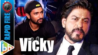 Video Vicky Kaushal's KILLER Rapid Fire On Anurag | Pahlaj | Richa | Shah Rukh MP3, 3GP, MP4, WEBM, AVI, FLV Oktober 2018