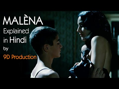 Malèna (2000) | Monica Bellucci | Italian Movie Explained in Hindi | 9D Production Films