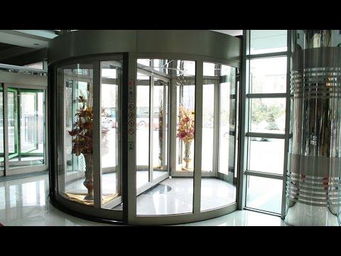 REVOLVING DOOR | AUTOMATIC REVOLVING DOORS | CRANE REVOLVING DOOR