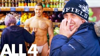 Download Video Naked & Invisible Personal Trainer Shocks Greengrocer Customers MP3 3GP MP4