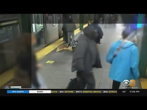 Man Pushed Onto Subway Tracks In Brooklyn Speaks To CBS2