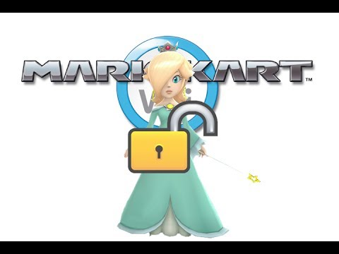 how to get rosalina on mario kart wii