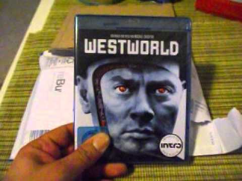 Unpacking DVD Westworld und Futureworld