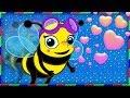 Arı Vız Vız Vız ve Sevimli Dostlar ile 58 Dakika Çizgi Film Bebek Şarkıları