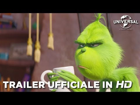 Preview Trailer Il Grinch, trailer ufficiale italiano