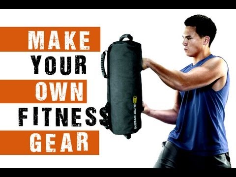 How to Make Your Own Home Fitness Equipment ( Sandbag )