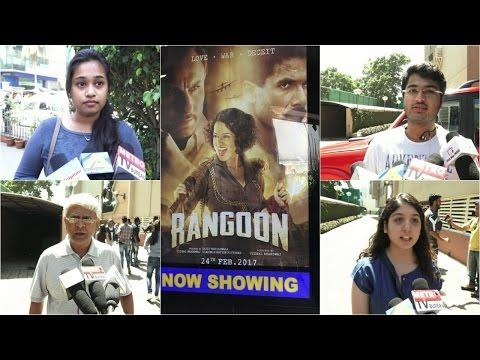 Pubic Review | Rangoon | Kangana Ranaut | Shahid Kapoor | Saif Ali Khan