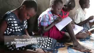 South Sudan's violent transformation into the world's youngest country has left 1.4 million children without education. The literacy rate is the worst in the...