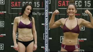Bellator 213: Ilima-Lei Macfarlane, Valerie Letourneau Make Weight - MMA Fighting by MMA Fighting