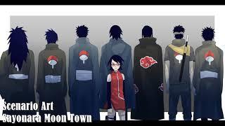 Sayonara Moon Town Scenarioart - Nightcore||Boruto: Naruto Next Generations Ending 2