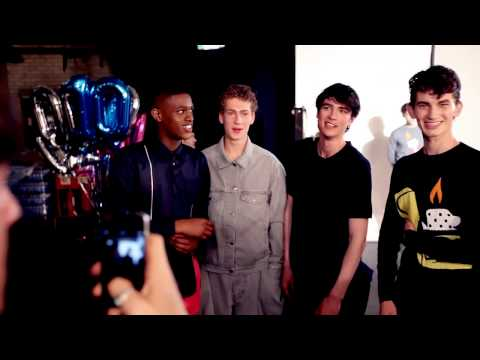 LC:M SS16 – BACKSTAGE AT CHRISTOPHER SHANNON