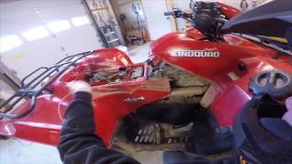 8. How to install a winch on a Suzuki 750 King Quad