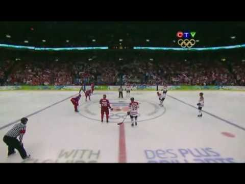 2010 Winter Olympics: Canada's goals against Russia