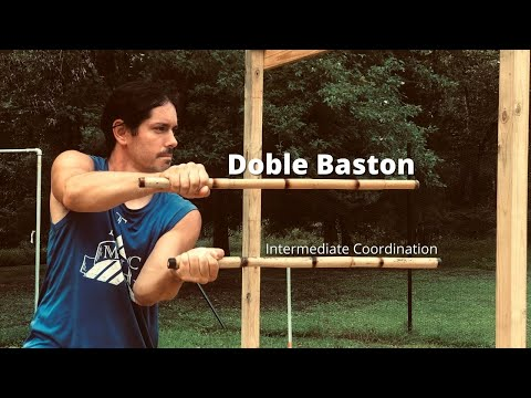 Double Sticks Drill - Intermediate | Kali Escrima Arnis